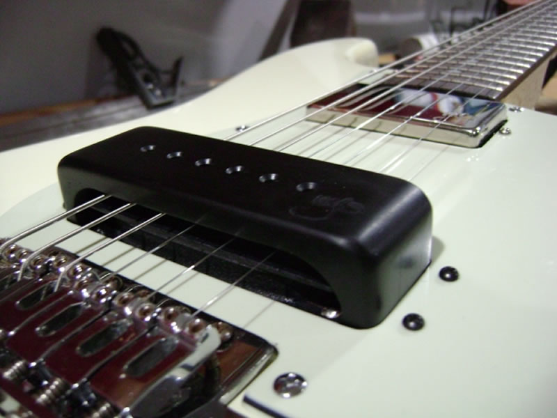 Strat to Slide Conversion - Closeup