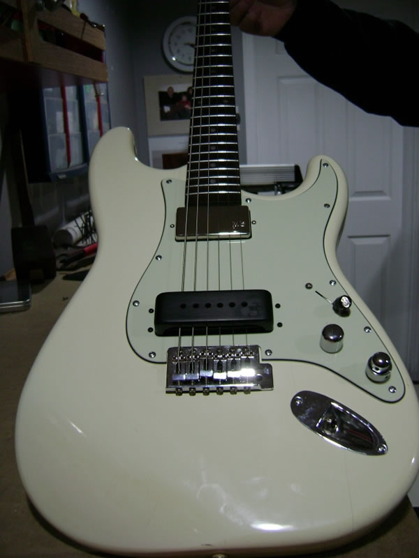 Strat to Slide Conversion - Full View